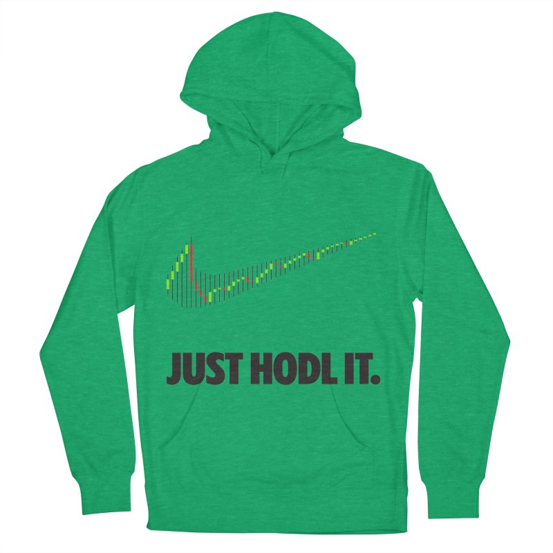 Just Hodl It  Men's French Terry Pullover Hoody by tryingtodoart's Artist Shop