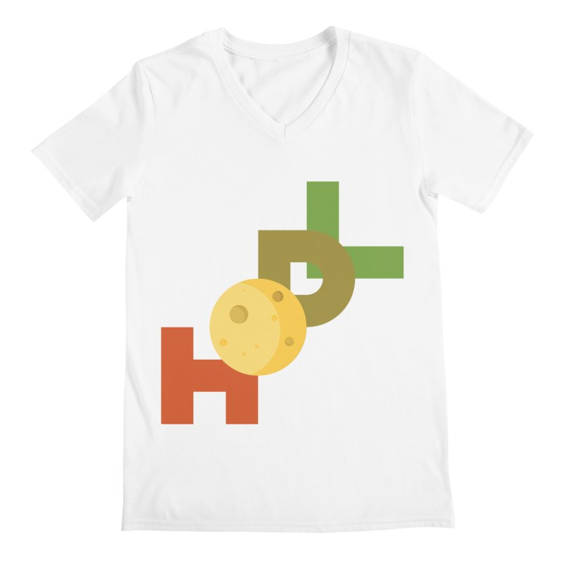 Hodl to the moon Men's V-Neck by tryingtodoart's Artist Shop