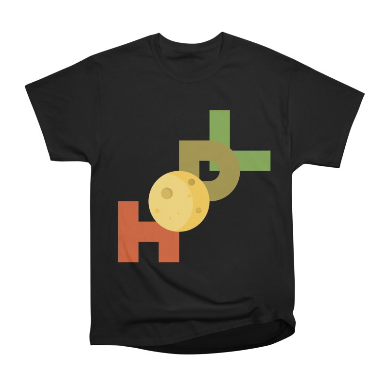 Hodl to the moon Men's Heavyweight T-Shirt by tryingtodoart's Artist Shop