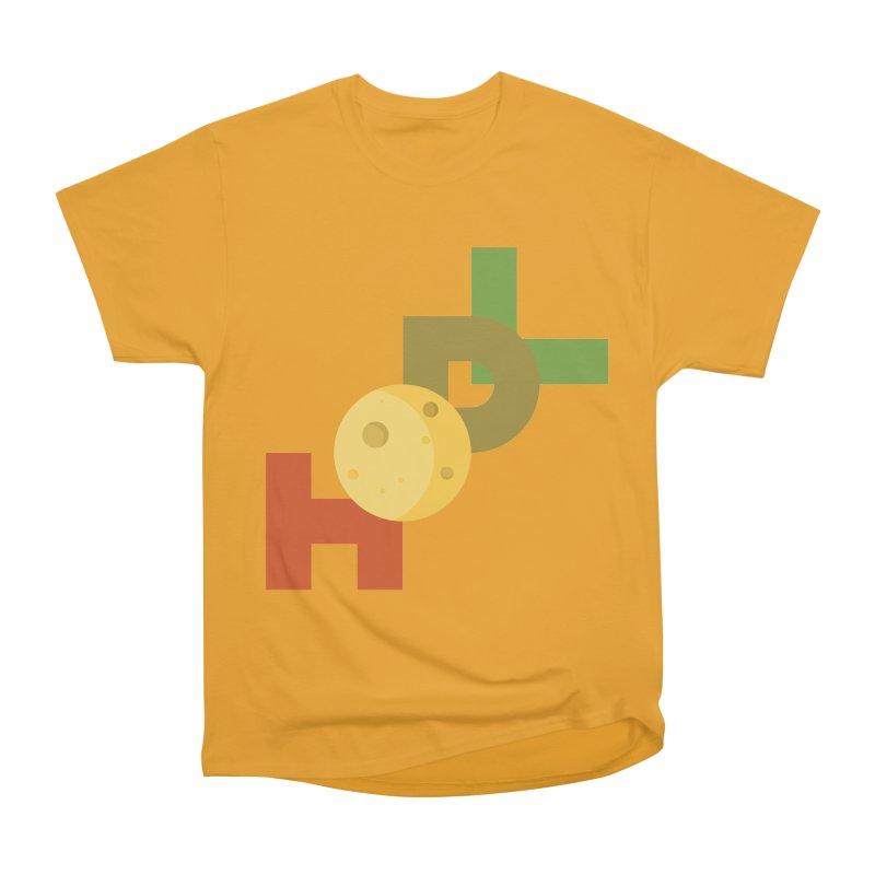 Hodl to the moon Men's Heavyweight T-Shirt by tryingtodoart's Artist Shop