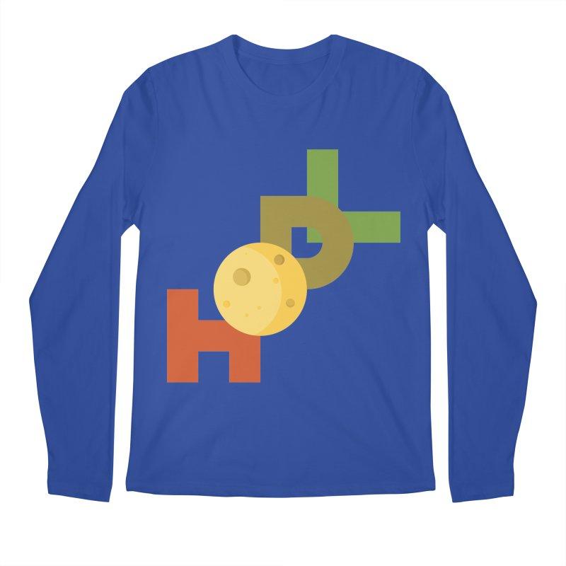 Hodl to the moon Men's Regular Longsleeve T-Shirt by tryingtodoart's Artist Shop