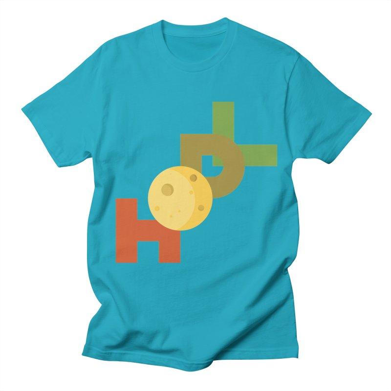 Hodl to the moon Men's Regular T-Shirt by tryingtodoart's Artist Shop