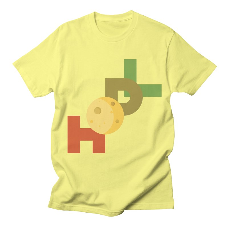 Hodl to the moon Women's Regular Unisex T-Shirt by tryingtodoart's Artist Shop