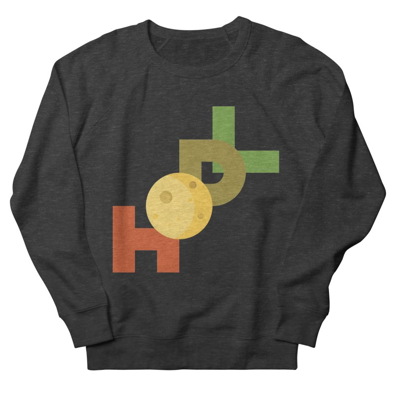 Hodl to the moon Men's French Terry Sweatshirt by tryingtodoart's Artist Shop