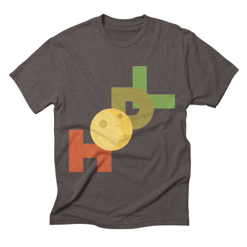 Hodl to the moon Men's Triblend T-Shirt by tryingtodoart's Artist Shop