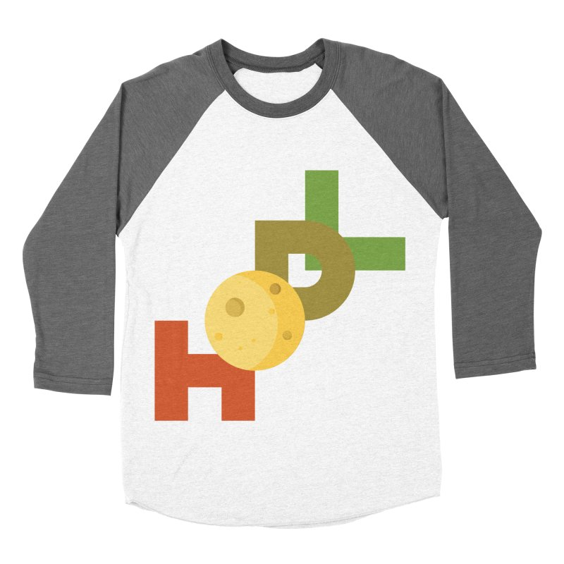 Hodl to the moon Women's Baseball Triblend Longsleeve T-Shirt by tryingtodoart's Artist Shop