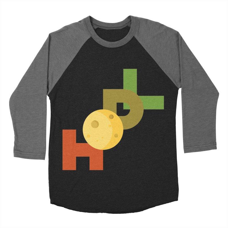 Hodl to the moon Women's Baseball Triblend Longsleeve T-Shirt by tryingtodoart's Artist Shop