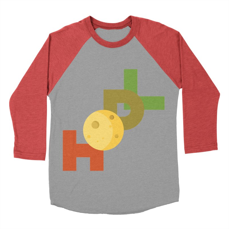 Hodl to the moon Men's Baseball Triblend Longsleeve T-Shirt by tryingtodoart's Artist Shop