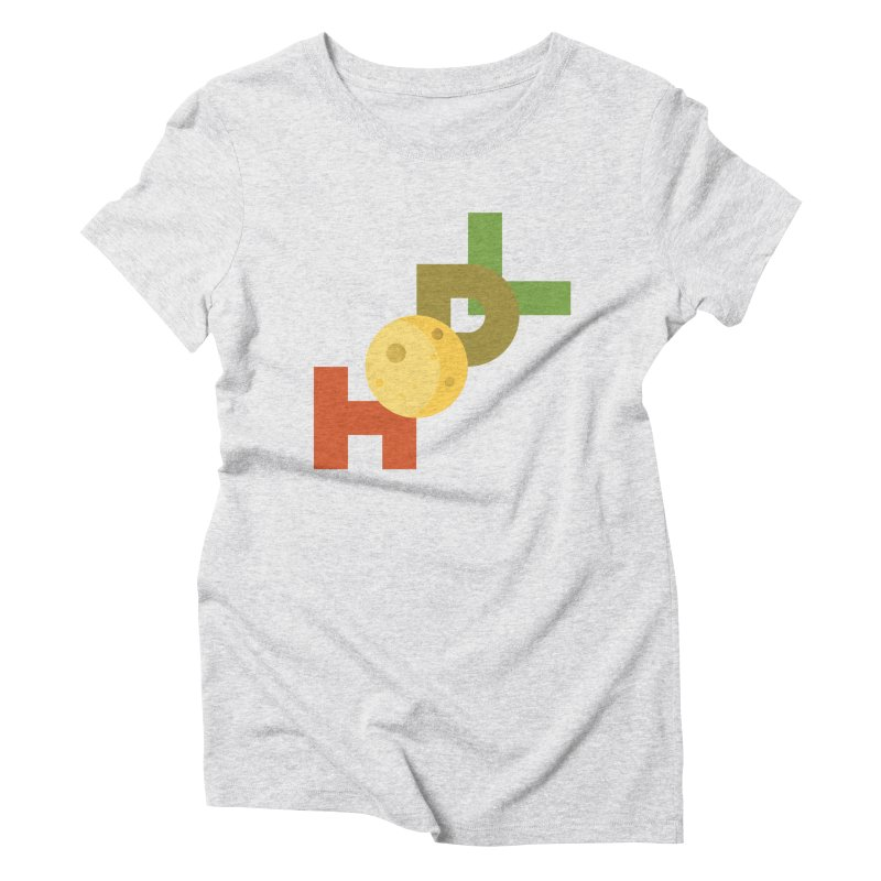 Hodl to the moon Women's T-Shirt by tryingtodoart's Artist Shop