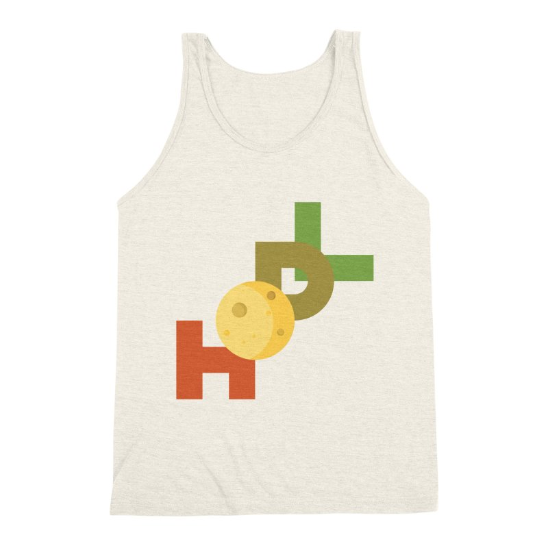 Hodl to the moon Men's Triblend Tank by tryingtodoart's Artist Shop
