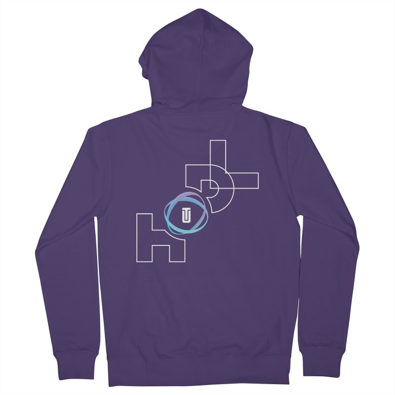Hodl Utrust Women's French Terry Zip-Up Hoody by tryingtodoart's Artist Shop