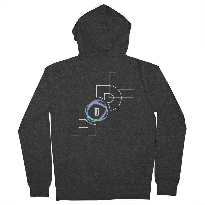 Hodl Utrust Men's French Terry Zip-Up Hoody by tryingtodoart's Artist Shop