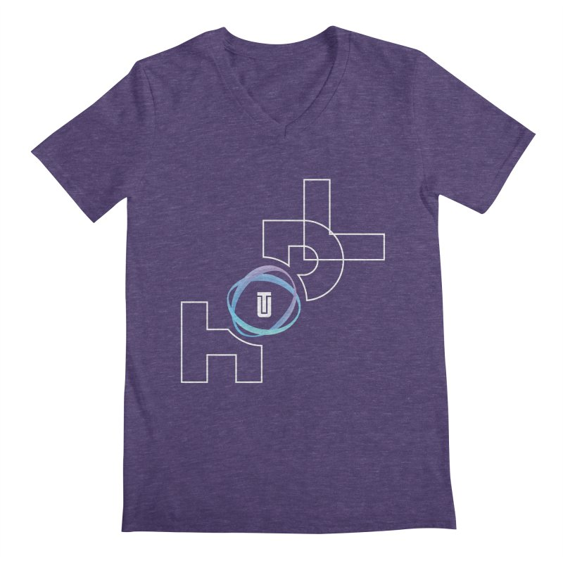 Hodl Utrust Men's Regular V-Neck by tryingtodoart's Artist Shop
