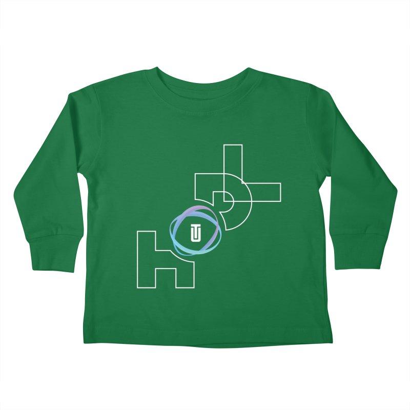 Hodl Utrust Kids Toddler Longsleeve T-Shirt by tryingtodoart's Artist Shop
