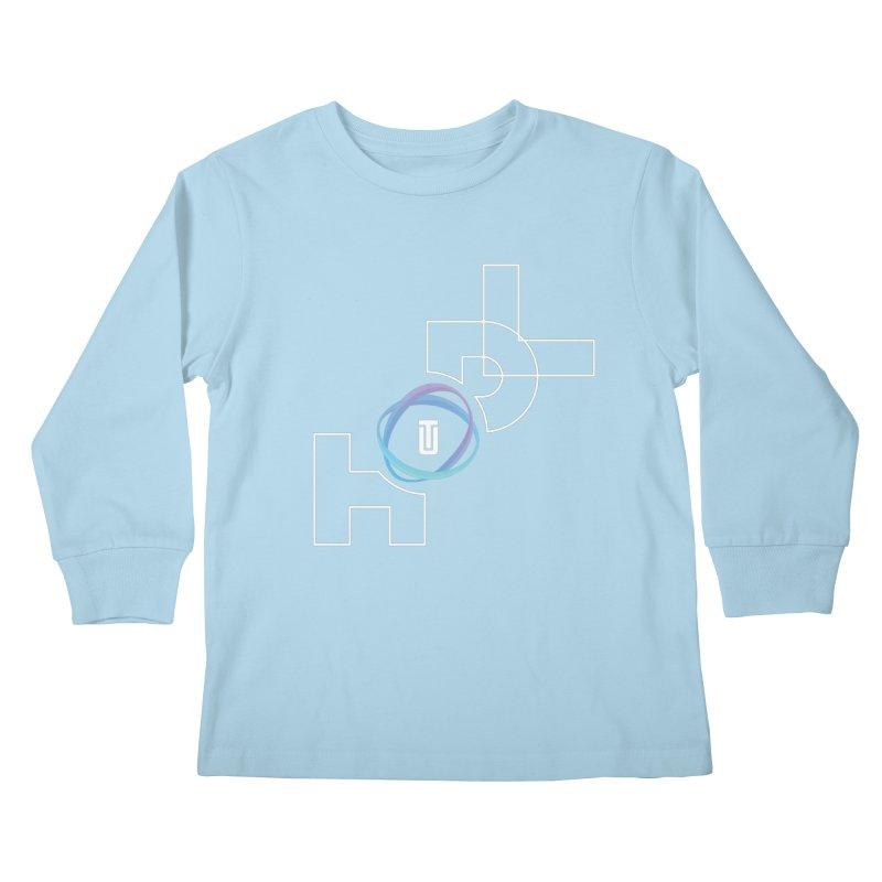 Hodl Utrust Kids Longsleeve T-Shirt by tryingtodoart's Artist Shop