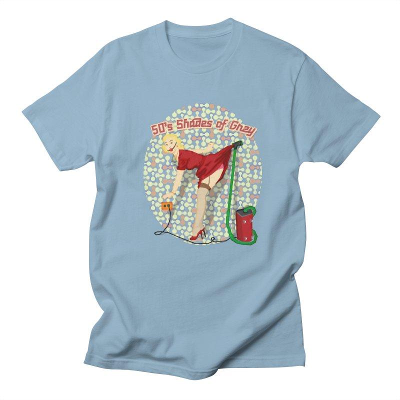 50's Shades of Grey Men's T-Shirt by tsg's artist shop