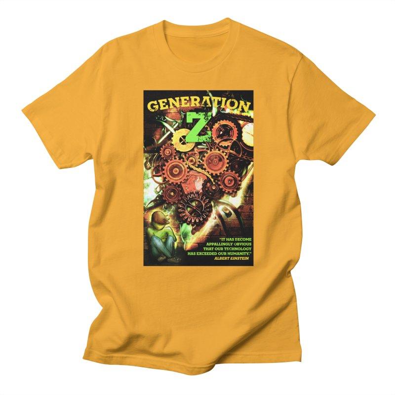 Generation Z Men's T-shirt by tsg's artist shop