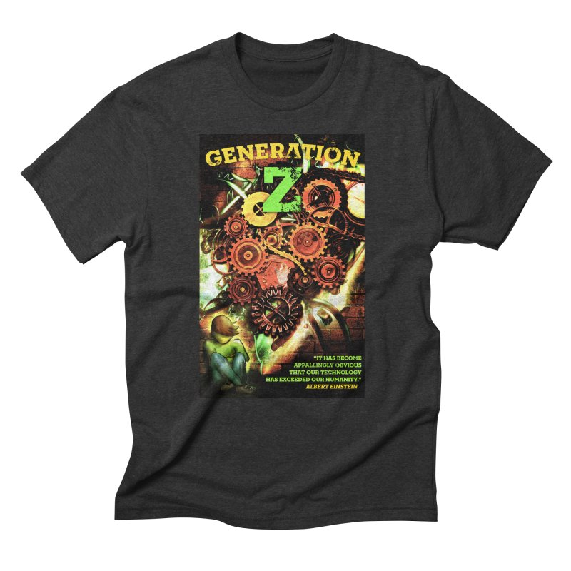 Generation Z Men's Triblend T-Shirt by tsg's artist shop