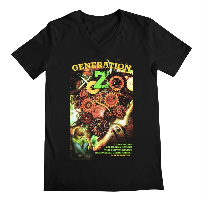Generation Z Men's V-Neck by tsg's artist shop
