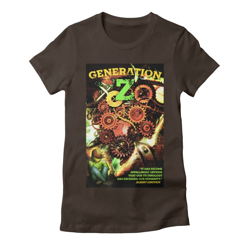 Generation Z Women's Fitted T-Shirt by tsg's artist shop