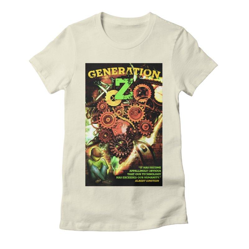 Generation Z Women's Fitted T-Shirt by tsg's artist shop