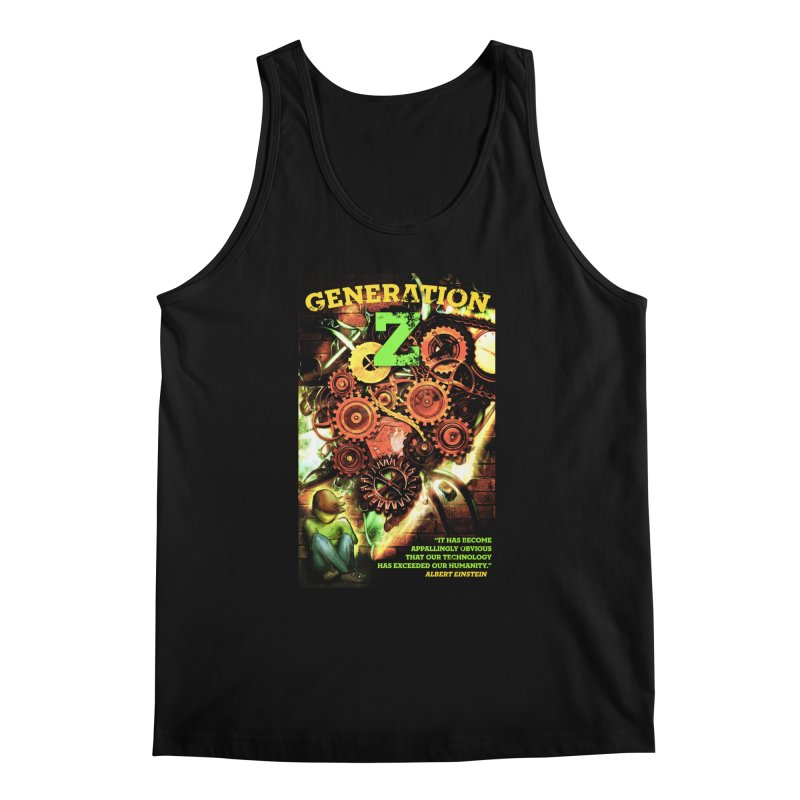 Generation Z Men's Tank by tsg's artist shop