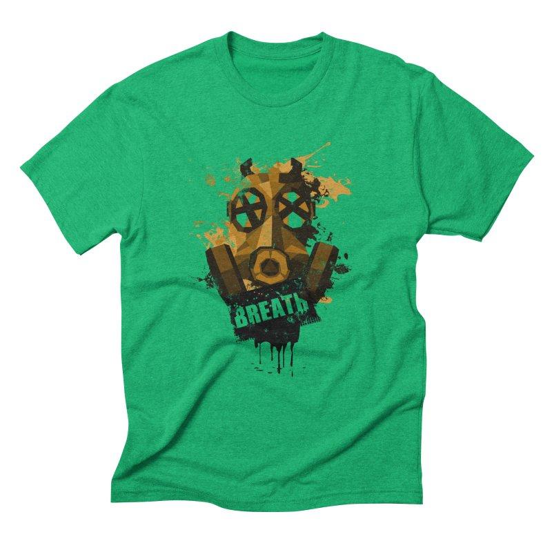 Breath! Men's Triblend T-Shirt by tsg's artist shop