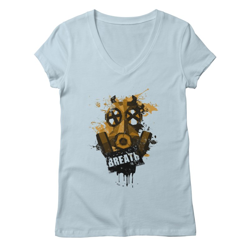 Breath! Women's V-Neck by tsg's artist shop