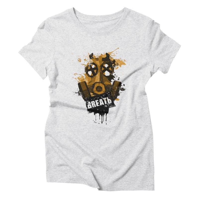 Breath! Women's Triblend T-Shirt by tsg's artist shop