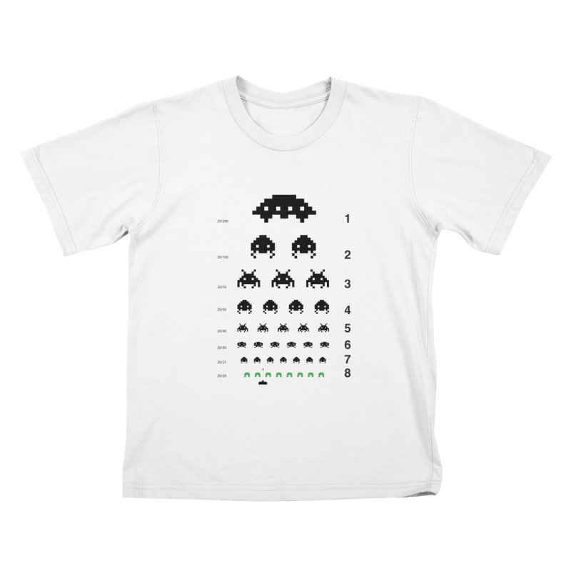 Gamers   Eye Test Kids T-shirt by tshirtbaba's Artist Shop