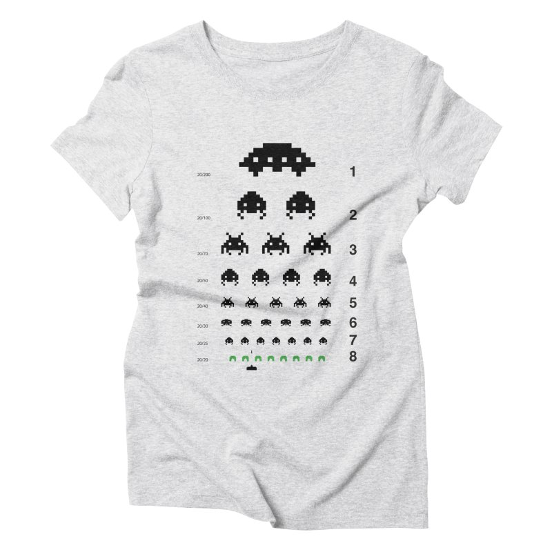 Gamers   Eye Test Women's Triblend T-shirt by tshirtbaba's Artist Shop