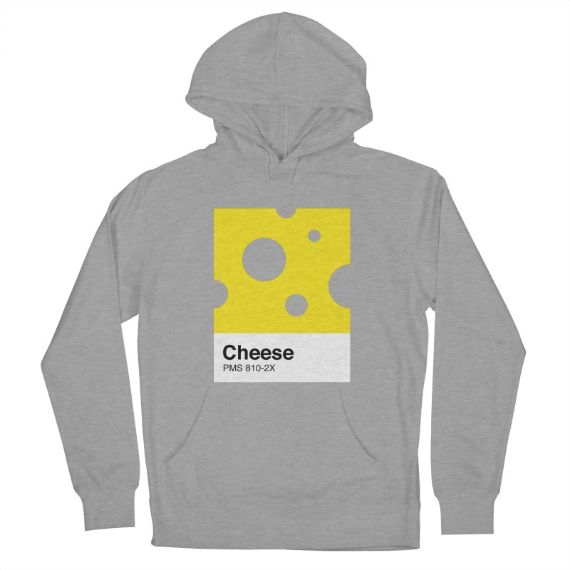 Cheese pantone Women's French Terry Pullover Hoody by tshirtbaba's Artist Shop