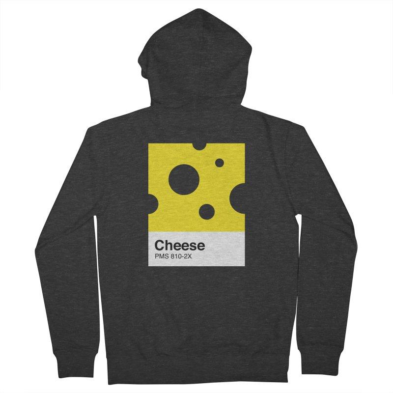 Cheese pantone Men's Zip-Up Hoody by tshirtbaba's Artist Shop