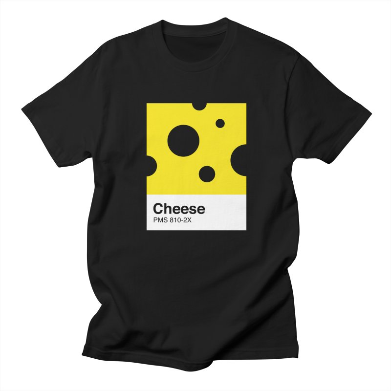 Cheese pantone Men's T-shirt by tshirtbaba's Artist Shop