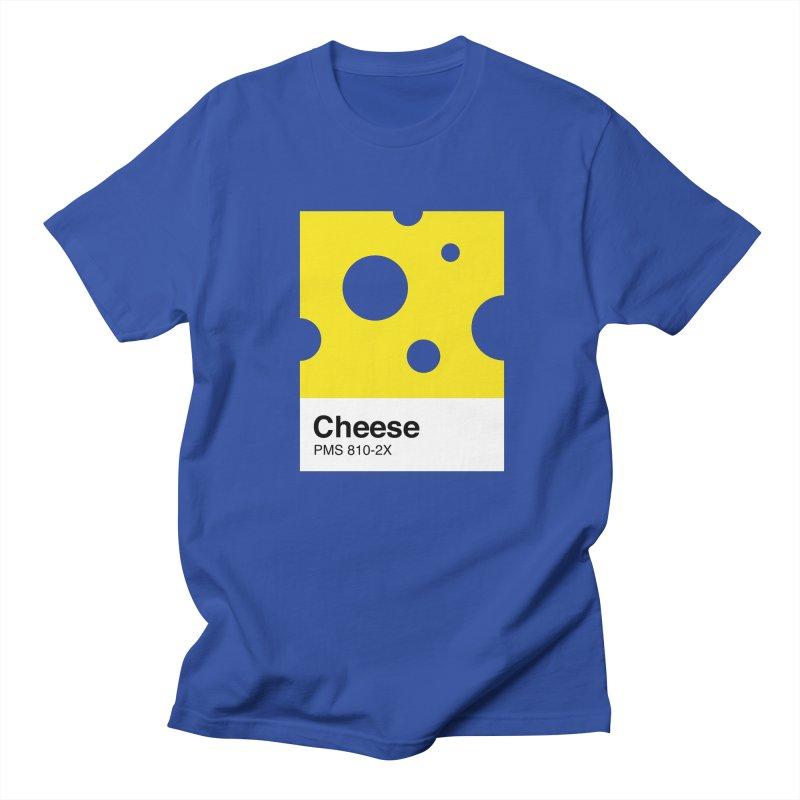 Cheese pantone Men's Regular T-Shirt by tshirtbaba's Artist Shop