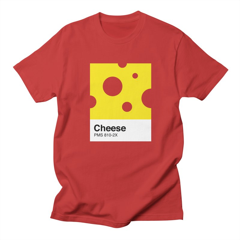 Cheese pantone Men's T-Shirt by tshirtbaba's Artist Shop