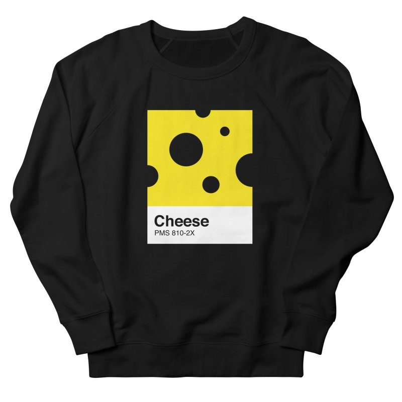 Cheese pantone Women's French Terry Sweatshirt by tshirtbaba's Artist Shop