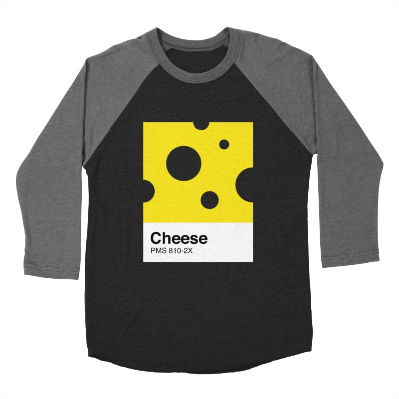 Cheese pantone Women's Baseball Triblend Longsleeve T-Shirt by tshirtbaba's Artist Shop