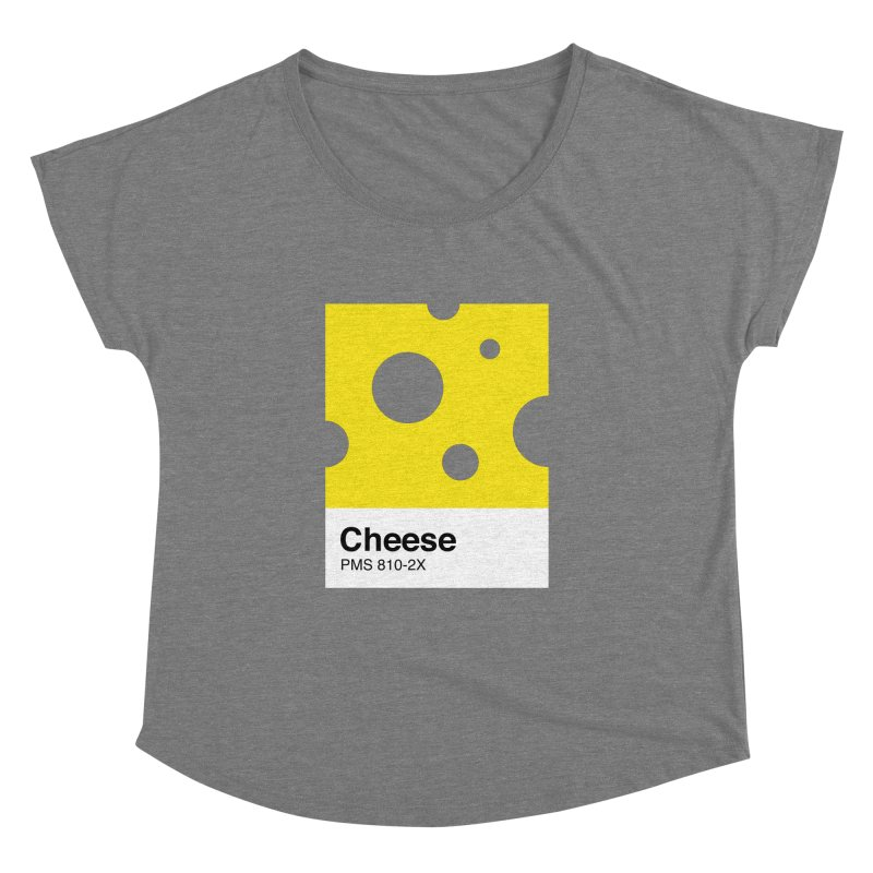 Cheese pantone Women's Dolman by tshirtbaba's Artist Shop