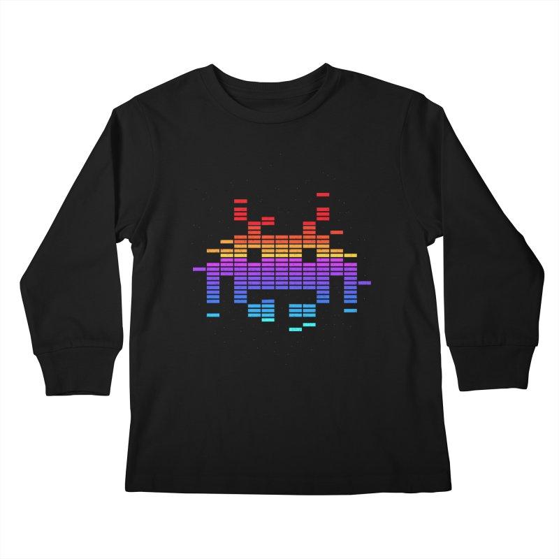 Space Equaliser Kids Longsleeve T-Shirt by tshirtbaba's Artist Shop