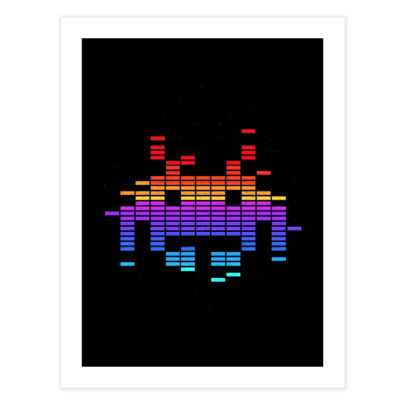 Space Equaliser Home Fine Art Print by tshirtbaba's Artist Shop