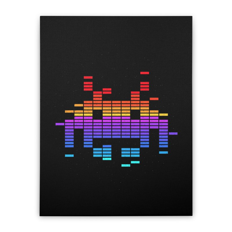 Space Equaliser Home Stretched Canvas by tshirtbaba's Artist Shop