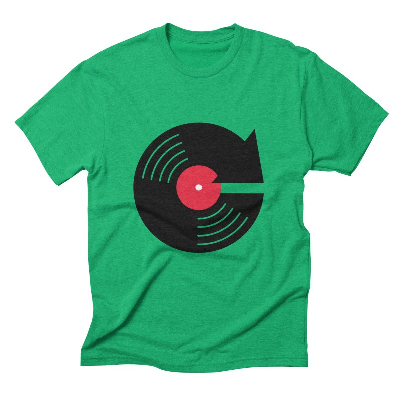 Replay Music in Men's Triblend T-Shirt Tri-Kelly by tshirtbaba's Artist Shop
