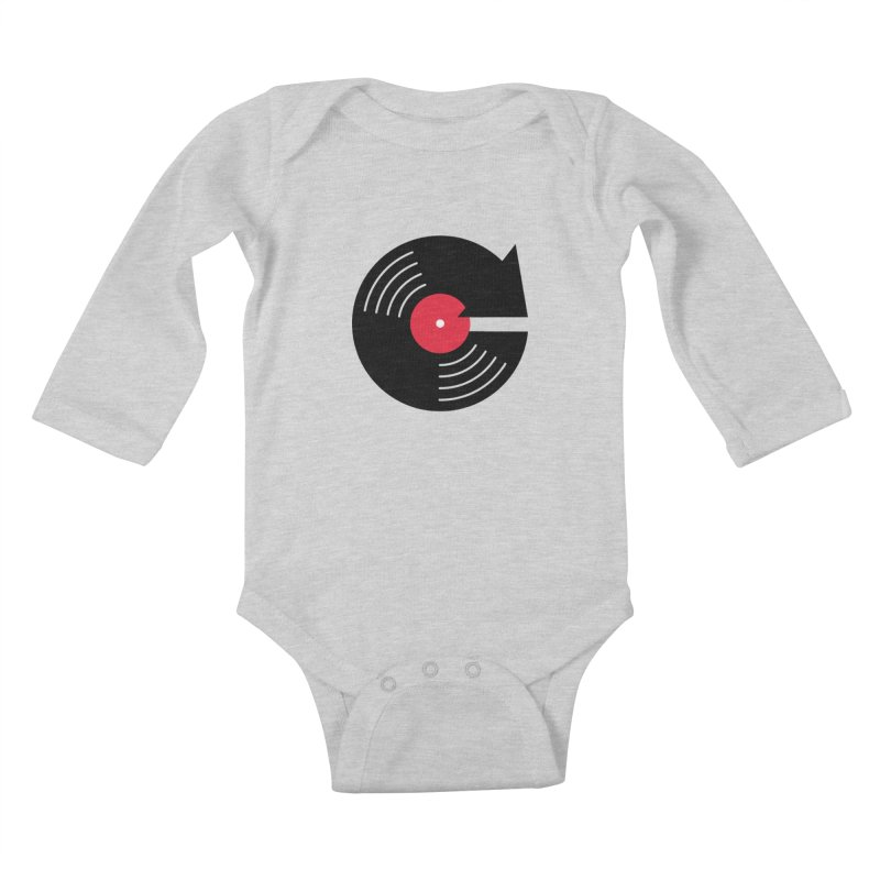 Replay Music Kids Baby Longsleeve Bodysuit by tshirtbaba's Artist Shop