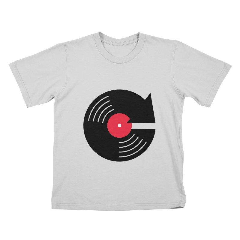 Replay Music Kids T-Shirt by tshirtbaba's Artist Shop