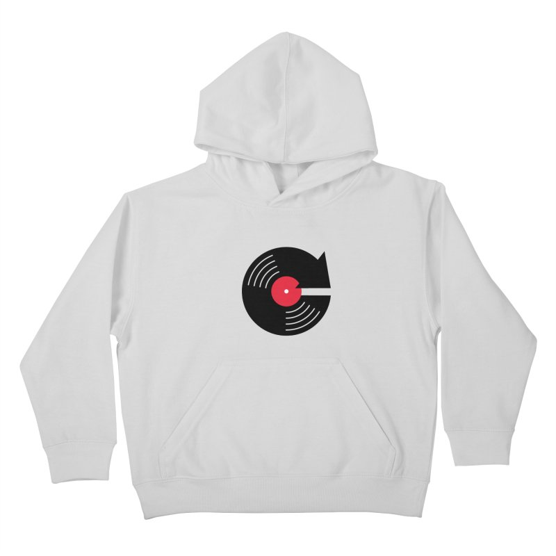 Replay Music Kids Pullover Hoody by tshirtbaba's Artist Shop