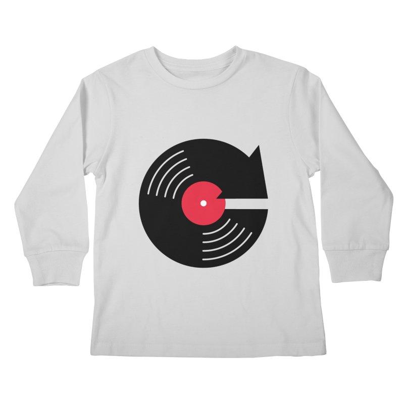 Replay Music Kids Longsleeve T-Shirt by tshirtbaba's Artist Shop