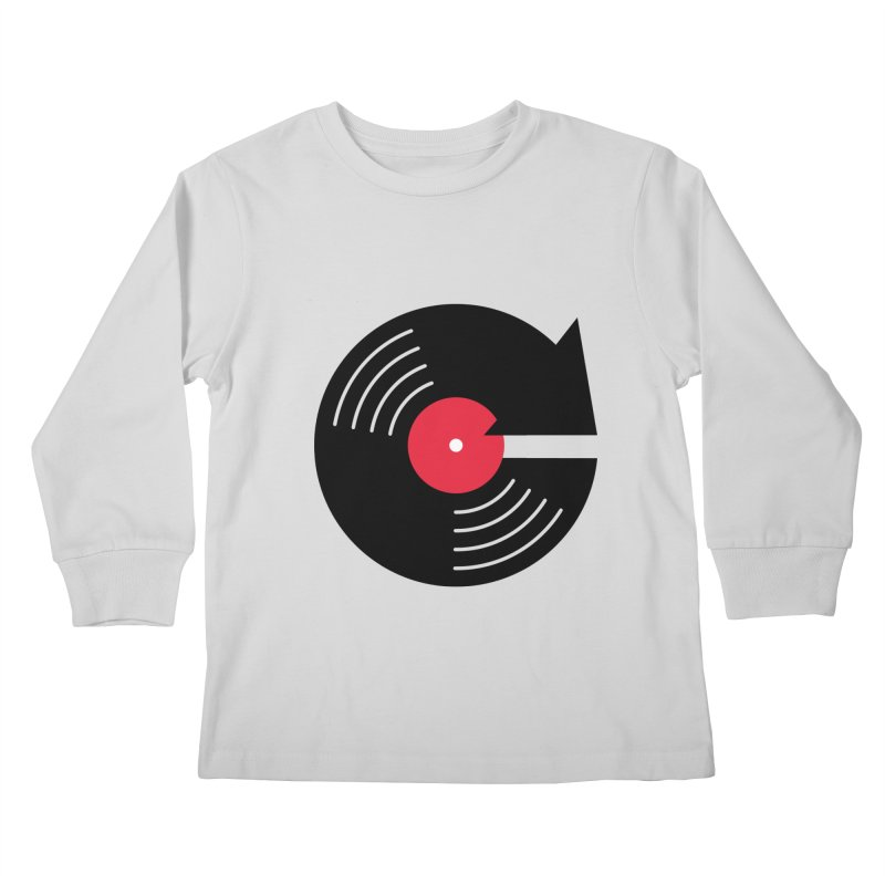 Replay Music Kids Longsleeve T-Shirt by tshirtbaba's Artist Shop