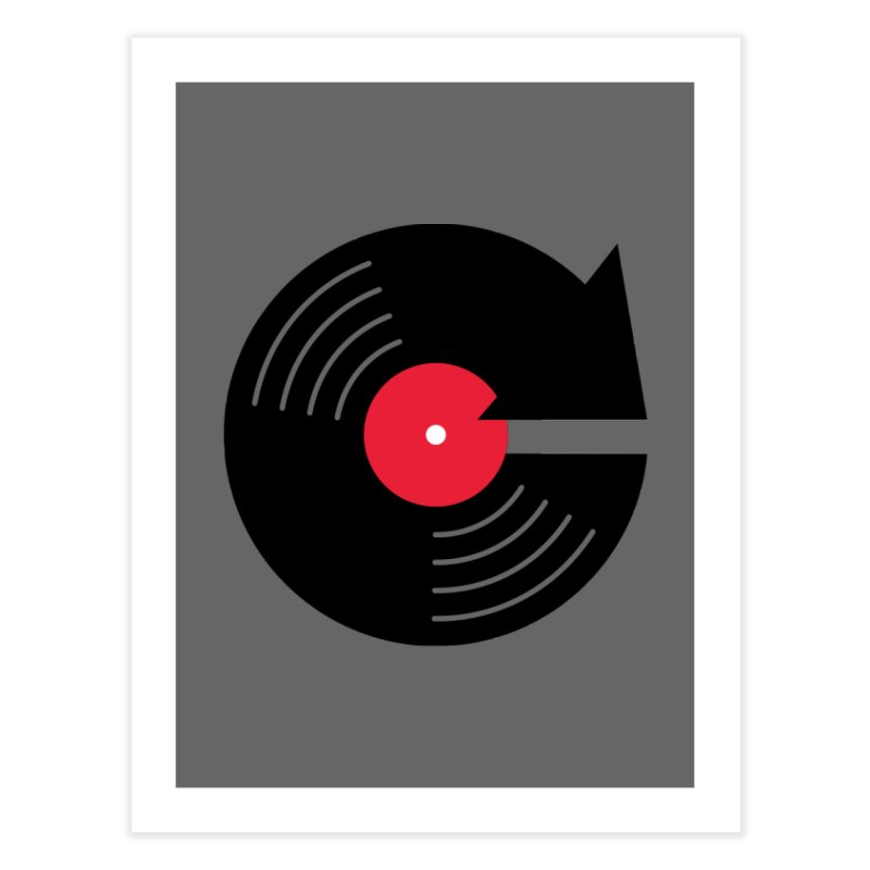 Replay Music Home Fine Art Print by tshirtbaba's Artist Shop