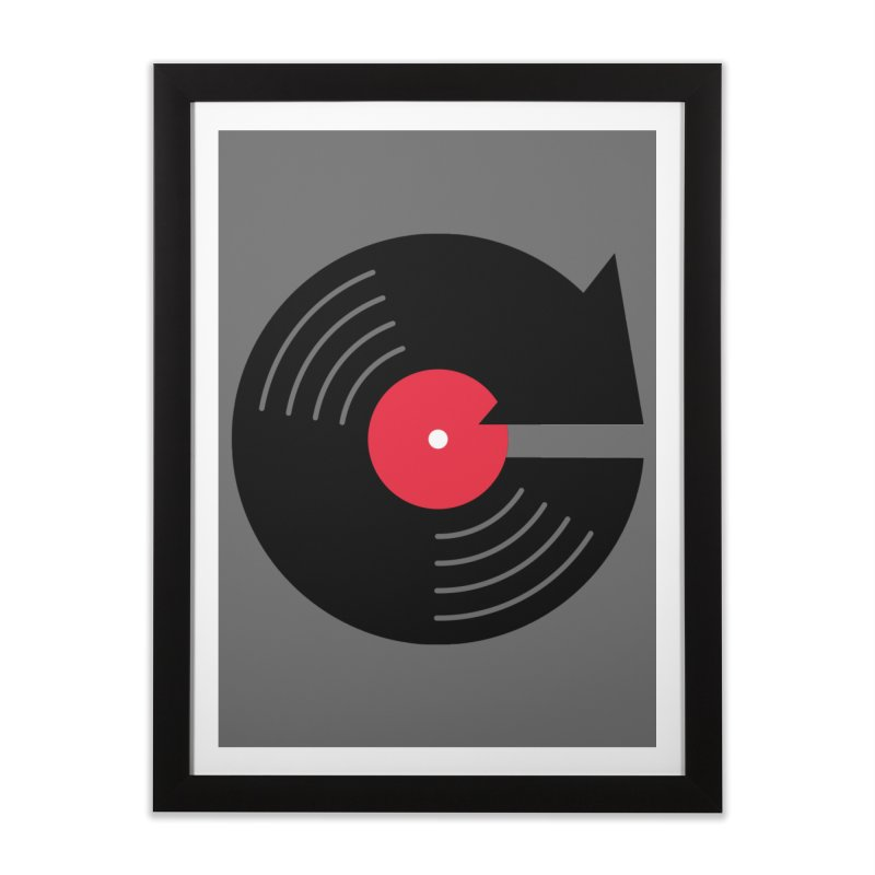 Replay Music Home Framed Fine Art Print by tshirtbaba's Artist Shop